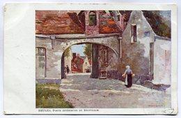 CPA - Carte Postale - Belgique - Bruges - Porte Intérieure Du Béguinage - 1913 (M7404) - Brugge