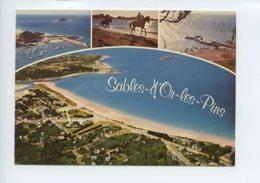 Piece Sur Le Theme De Multivues - Sables D Or Les Pins - Voyagee En 1980 - France