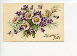 Piece Sur Le Theme De Bonne Fete - Bouquet De Fleurs - Ecrite - Fêtes - Voeux
