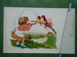 Kov 9-2 - Children, Enfants, Birds, Oiseau, Fifre, Fife - Enfants