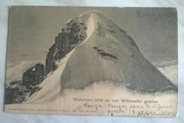 WELTERHORAN VOM WWETTERSEFFEL GESEHEN VIAGGIATA 1902    (1187) - Svizzera