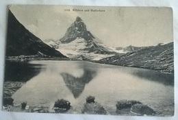 RIFFELSEE UND MATTERHORN  VIAGGIATA 1907    (1188) - Svizzera