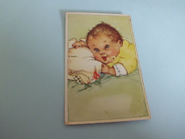 BELLE ILLUSTRATION ...JEUNE ENFANT ...SIGNE  BALLEIN ???? - Autres Illustrateurs