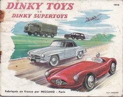 DINKY TOYS Catalogue 1958 - 16 Pages - Format 10,5 X 13,5 Cm - Jeux Et Jouets