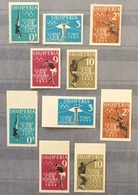 Albania 1962; Olympic Games Tokyo; Perforate & Imperforate Set; MNH** Catalogue Value 75 Euro!! - Albanie