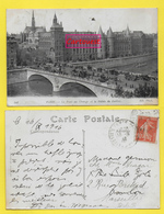 CP Ancienne Avant 1960 - N° 306 -- Europe France - Paris - Le Pont Au Change & Le Palais De Justice Année 16.09.1916 ֎ - Ponts