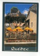 Piece Sur Le Theme De Canada - Quebec - Cafe Terrace - Non Voyagee - Quebec