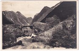 Norwegische Gebirgslandschaft - (Carl Müller & Sohn, Altona/Elbe - N. 28) - Norway-Norge - Noorwegen