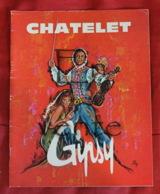 Piece Sur Le Theme De Chatelet - Gipsy - Operette Tzigane A Grand Spectacle De Francis Lopez - Old Paper
