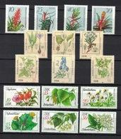 DDR Between 1978 - 1988, Pflanzen Plants Planten Plantes Plantas **, MNH - Pflanzen Und Botanik