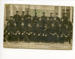 Piece Sur Le Theme De Cp - Photo Ancienne - Guerre 1914 - 12 Eme Artillerie - 72eme Batterie - 7 10 1914 - Militaria