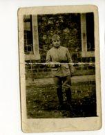 Piece Sur Le Theme De Cp - Photo Ancienne - Jeune Militaire - Cliche Date Du 31 Mai 1921 - Militaria