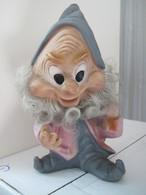 Disney - NANO GONGOLO - Rubber Toy DWARF HAPPY - Altre Collezioni
