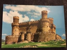 Castillo De Manzanares El Real Madrid España - Schlösser