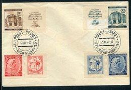 Boehmen Und Maehren / 1941 / Mi. 79-82 Zf A. Blancobrief, So-Stempel Nr. 80 (10197) - Böhmen Und Mähren