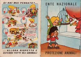 N 3 Tessere Della Protezione Animali Del 61+62+63 - Old Paper