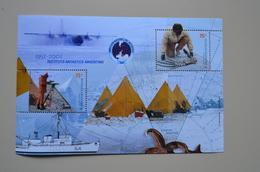 Argentine M/S MNH Antarctique 2001 Instituto Antartico Antartida Argentina - Expéditions Antarctiques
