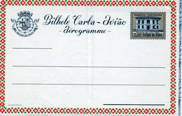 "Portuguese, Estado Da India Province 1959 ""Goa Post Office"" Aerogramme, Air Letter. H&G F7 MINT I - Portuguese India"