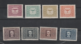 Flugpost Mi. Nr. 425 - 432 Ungebraucht - 1918-1945 1. Republik