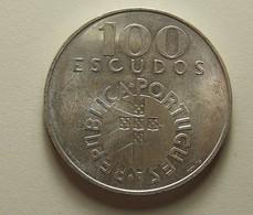 Portugal 100 Escudos 25 De Abril Silver - Portugal
