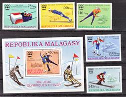 Magascar  573/575, PA 160/161 Et Bf 9 Innsbruck 76 Neuf **TB  Mnh - Madagascar (1960-...)
