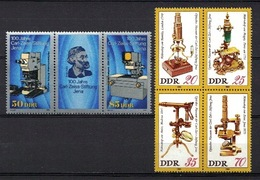 DDR 1980 + 1989, Carl Zeiss Mikroskop  Microscoop Microscope **, MNH - Wissenschaften