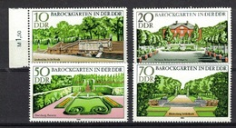 DDR 1980, Barockgärten Garten Tuin Garden Jardin Giardino **, MNH - Architektur