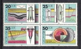 DDR 1980, Geophysik Geophysics Géophysique **, MNH - Geologie