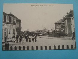 59 - Gravelines - Place De La Gare - 1916 - Gravelines