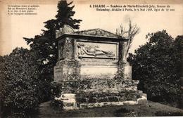 FALAISE  TOMBEAU DE MARIE ELISABETH JOLY FEMME DE DALOMBOY - Falaise