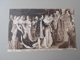 YVELINES MUSEE DE VERSAILLES ROUGET MARIAGE DE L'EMPEREUR ET DE MARIE LOUISE AU LOUVRE - Versailles (Château)