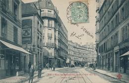 I58 - 75 - PARIS - Rue De Belleville - Dépôt Du Funiculaire - Arrondissement: 20