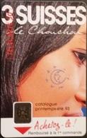 Telefonkarte Frankreich - Werbung - Frau - 50 Units - 02/93 - 1993