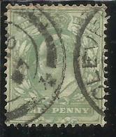 GREAT BRITAIN GRAN BRETAGNA 1902 1911 KING EDWARD VII HALF PENNY 1/2p USATO USED OBLITERE' - 1902-1951 (Re)