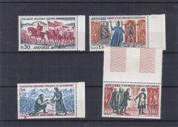 Andorre Français - Yvert 167 / 70 ** - MNH - Napoleon - Religieux - Drapeaux - Soldats - Valeur 85 Euros - Andorre Français