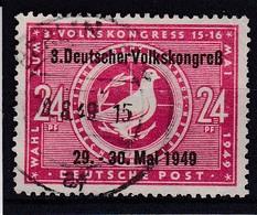 SBZ Nr. 233, Gest. (T 10020) - Sowjetische Zone (SBZ)