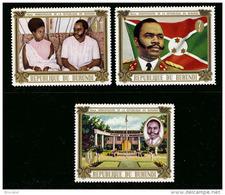 Burundi 0426/28**   Anniversaire   MNH - Burundi