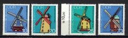 DDR 1981, Mûhle Mill Molen Moulin Molino Mulino **, MNH - Mühlen