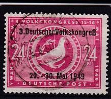 SBZ Nr. 233, Gest. (T 10021) - Sowjetische Zone (SBZ)
