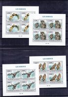 Hiboux - Burundi - COB 2504 / 7 ** - MNH - En Bloc De 4 - Valeur 60 Euros - Hiboux & Chouettes