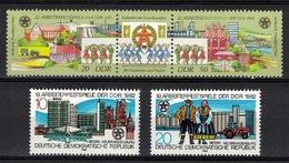 DDR 1982 + 1988, Spiele Arbeiterfestspiele Games **, MNH - Spiele