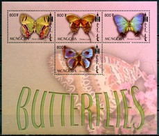 MONGOLIA 2003** - Farfalle / Butterflies - Block Di 4 Val. MNH, Come Da Scansione. - Farfalle