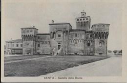 CENTO - CASTELLO DELLA ROCCA - FORMATO PICCOLO - EDIZ. BIANCHI - NUOVA - Castelli