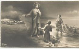 SANTINO SERIE AR 1765 GESU' COL PESCATORE PIETRO - Images Religieuses