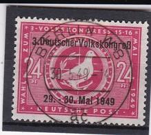 SBZ Nr. 233, Gest. (T 10025) - Sowjetische Zone (SBZ)