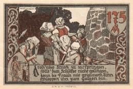 Billet Allemand - 175 Pfennig - Gransee In Der Mark - Stadttore, Frauen Nehmen Mann Gefangen - Lokale Ausgaben