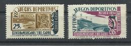 MEXICO YVERT AEREO  184/85    MNH  ** - México