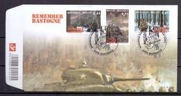 3329/31 REMEMBER BASTOGNE FDC 2004 - 2001-10