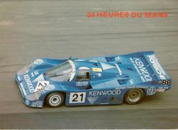 Cpm 24h Du Mans PORSCHE KENWOOD 3è En 1983 , Pilotes M. Et M. ANDRETTI , P. ALLIOT - Le Mans