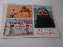 B716  Marocco Folklore Non Viaggiata - Marocco